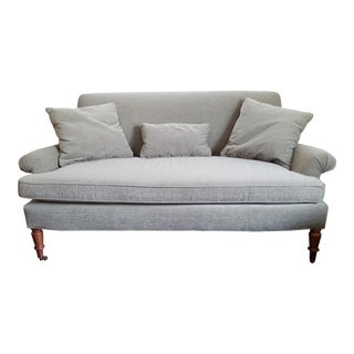 Traditional Style Lee Industries Loveseat For Sale