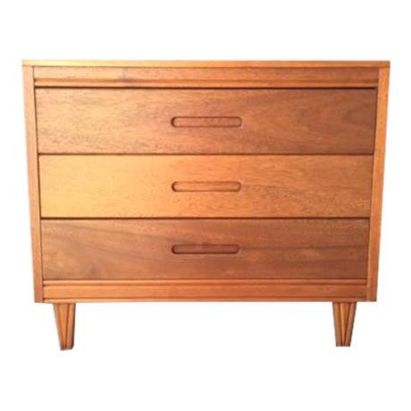 Mid-Century Refinished Mahogany Dresser - Image 1 of 7