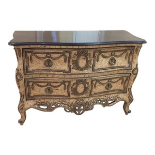 French Country Painted Chest For Sale