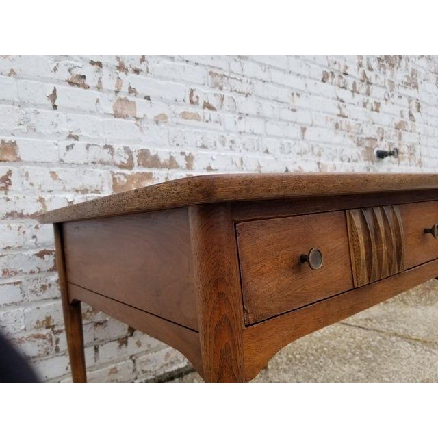 Mid-Century Modern 1960s Mid-Century Modern Wooden Side Table For Sale - Image 3 of 8