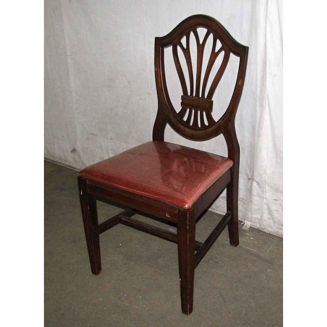 Classic Mahogany Dining Chairs - Set of 6 For Sale - Image 4 of 12