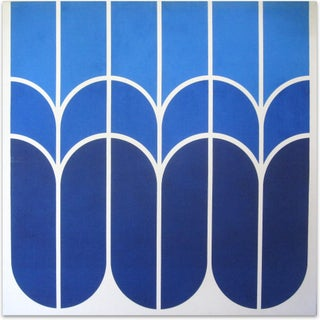 "Vintage 1970s Large-Scale Graphic Art ""Tulip"" For Sale"