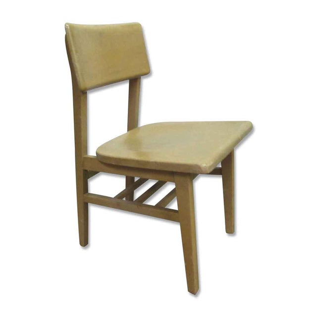 Solid Maple School Chair For Sale - Image 4 of 10