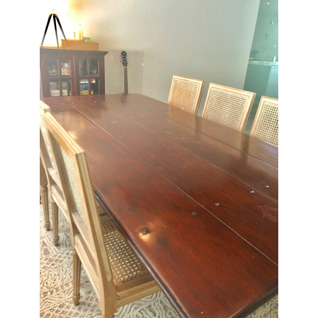 Theodore Alexander Farmhouse Theodore Alexander Dining Table For Sale - Image 4 of 13