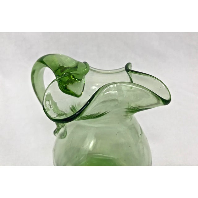 Blenko Blown Glass Pitcher - Image 3 of 4