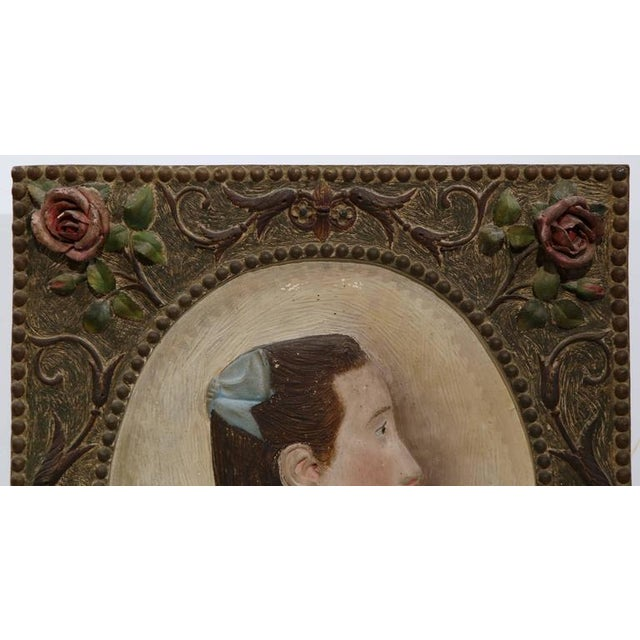 French 19th Century French Terracotta Plaque C. 1860 For Sale - Image 3 of 8