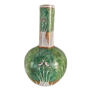 Japanese Imari Onion Shape Vase