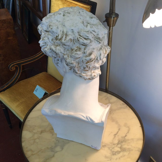 Plaster Bust Of David - Image 4 of 8