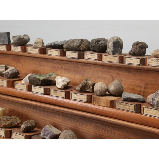 Stone 1891 French School Mineral Specimen Collection - 200 Pc. Set For Sale - Image 7 of 13