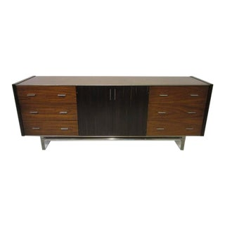 Rosewood and Lucite Dresser Chest