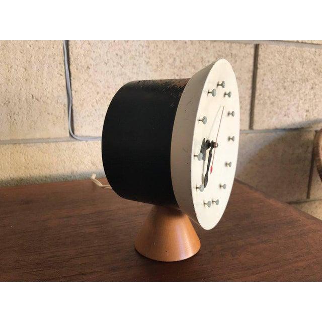 Howard Miller George Nelson & Irving Harper for Howard Miller Table Desk Clock, 1951, Works For Sale - Image 4 of 13