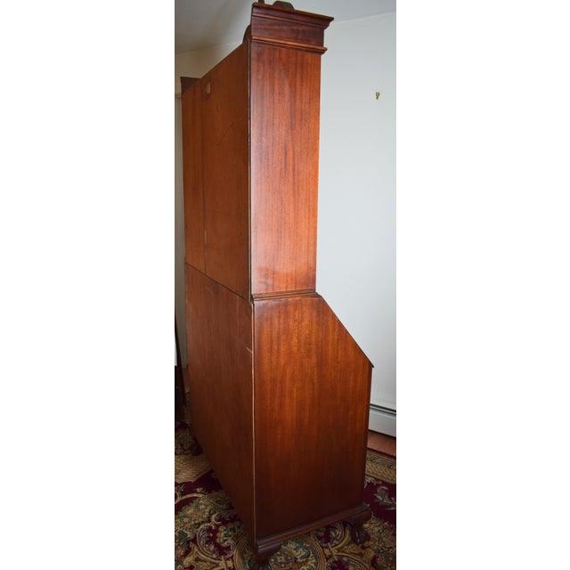 Antique Maddox Mahogany Secretary Desk - Image 6 of 11