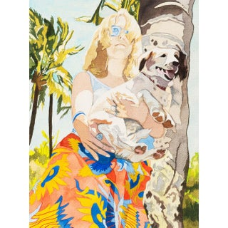 'Rodeo Drive', by Nancy Maass Mosen, 1972; Sfmoma Woman Artist,, Beverly Hills, California Modernism For Sale