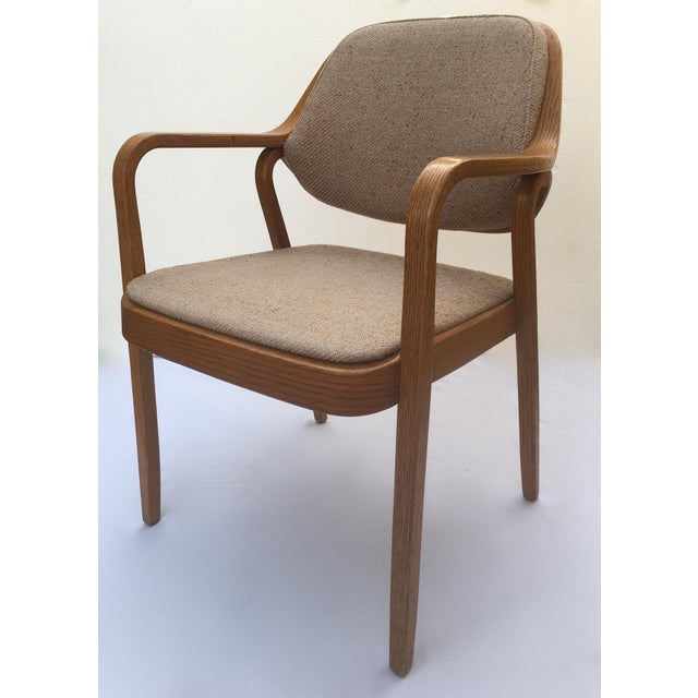 Don Pettit for Knoll International Bentwood Arm / Desk Chair For Sale - Image 13 of 13