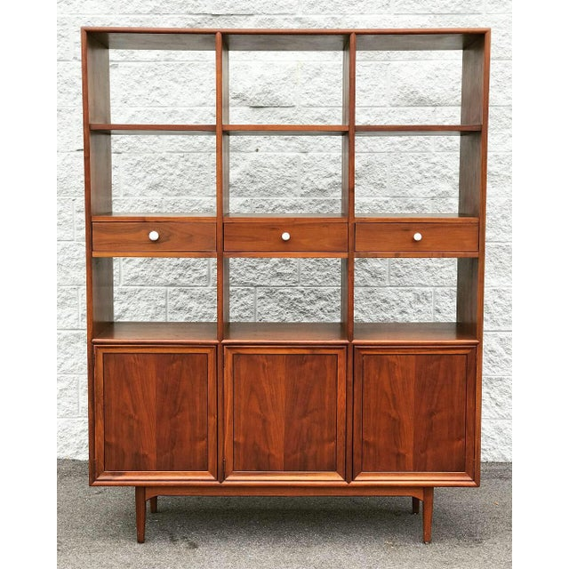 Mid-Century Modern Mid Century Modern Drexel Declaration Wall Unit For Sale - Image 3 of 13