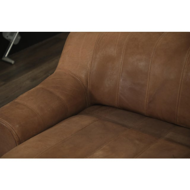 De Sede Aged Buffalo Leather Ds-44 Adjustable Loveseat Sofa, 1970s For Sale - Image 10 of 13