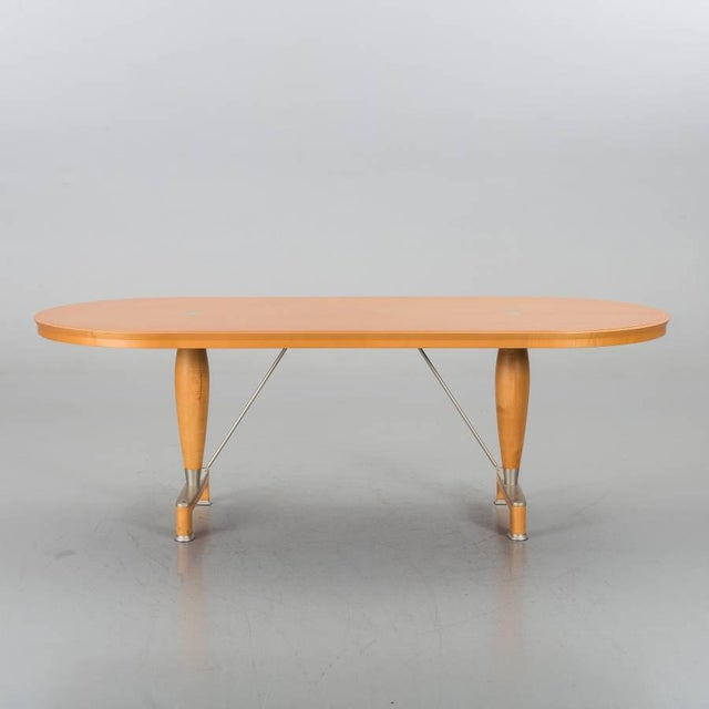 Asian Chi Wing Lo for Giorgetti Georgette Oblong Table For Sale - Image 3 of 7