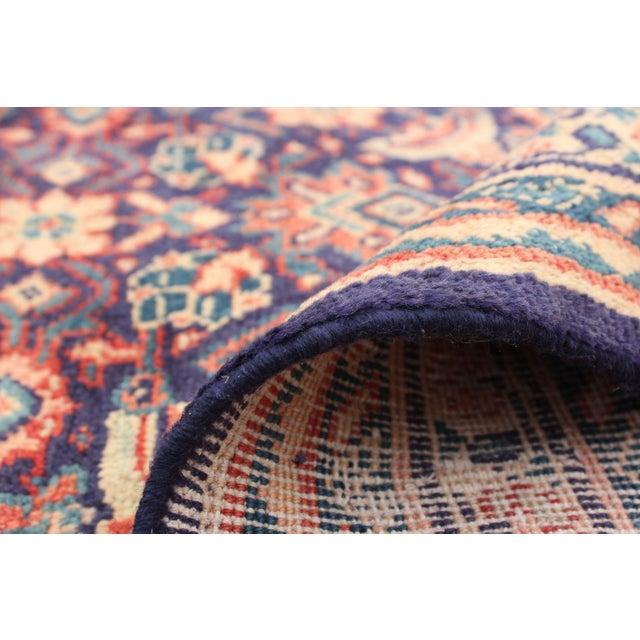 Brown Vintage Turkish Style Rug For Sale - Image 8 of 9