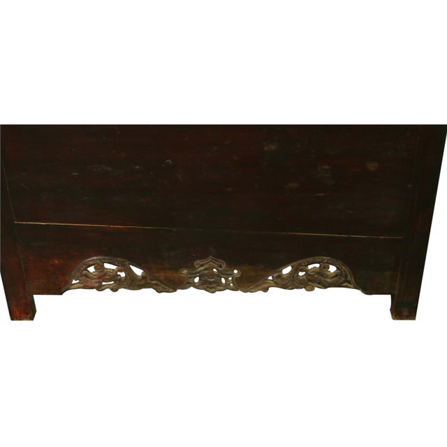 Late Qing Dynasty Elm & Chinese Fir Cabinet - Image 8 of 8