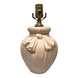 John Dickinson Style Bow & Drape Lamp