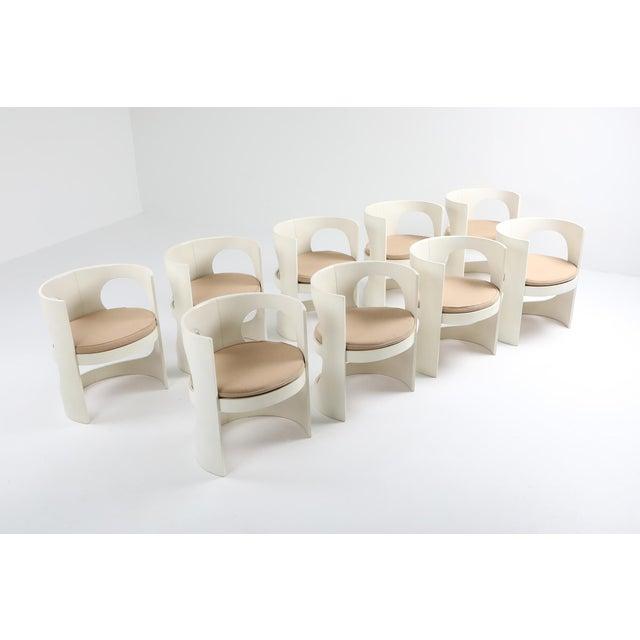 Arne Jacobsen Pre Pop Dining Set for Asko - 1969 For Sale - Image 11 of 12