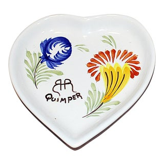 Quimper Faience Thanksgiving Dish For Sale