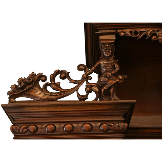 Late 19th Century Antique French Renaissance Style Buffet For Sale - Image 5 of 8