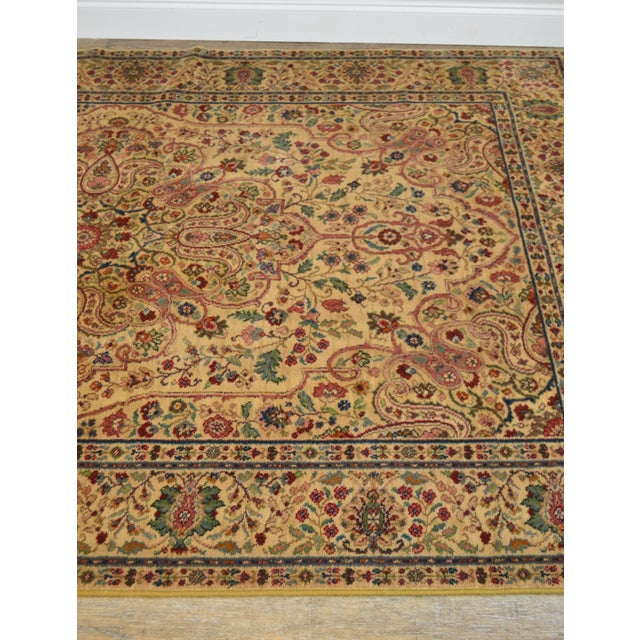 Karastan Tabriz Medallion Samovar Tea Wash 5'9 x 9' Rug For Sale In Philadelphia - Image 6 of 12