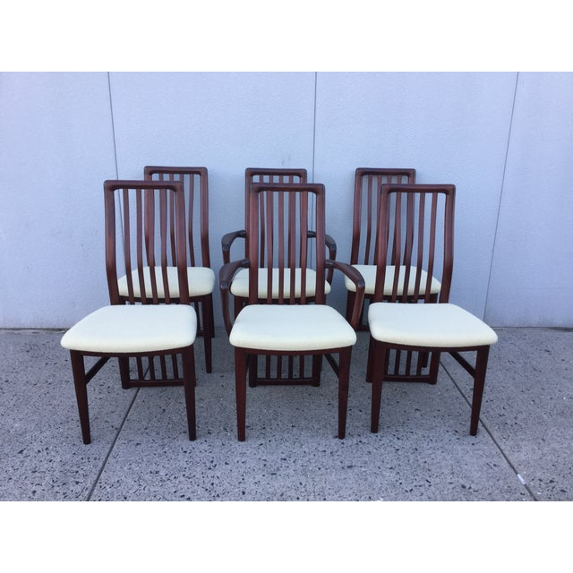 Danish Modern Dining Chairs - Set of 6 - Image 4 of 11