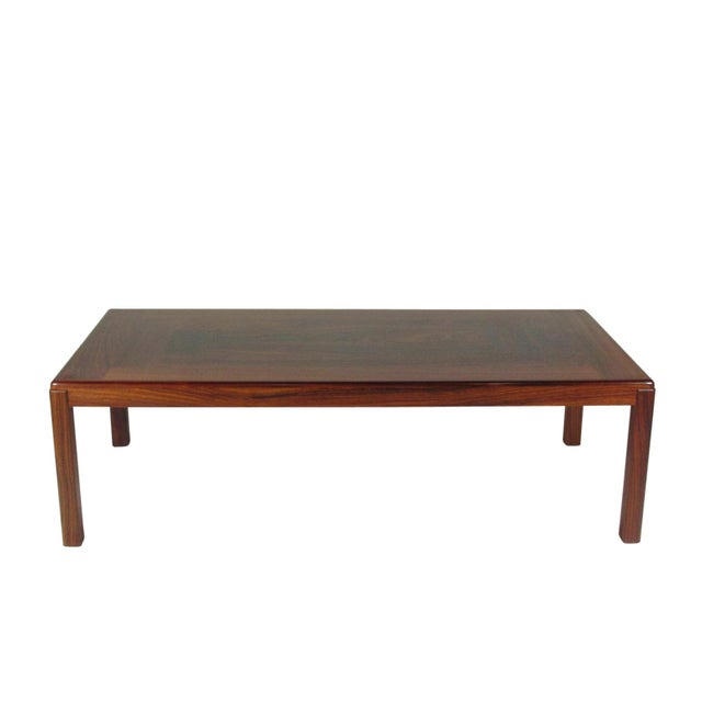 1960s Mid-Century Modern Rosewood Coffee Table For Sale - Image 9 of 9