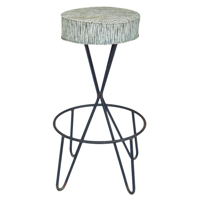 Metal 1960s Paul Tuttle Stools - Set of 3 For Sale - Image 7 of 12