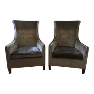 "Stickley ""Ritz"" Chairs - a Pair"