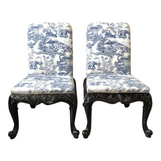 Ralph Lauren Home Bel Air Dining Side Chairs - a Pair For Sale