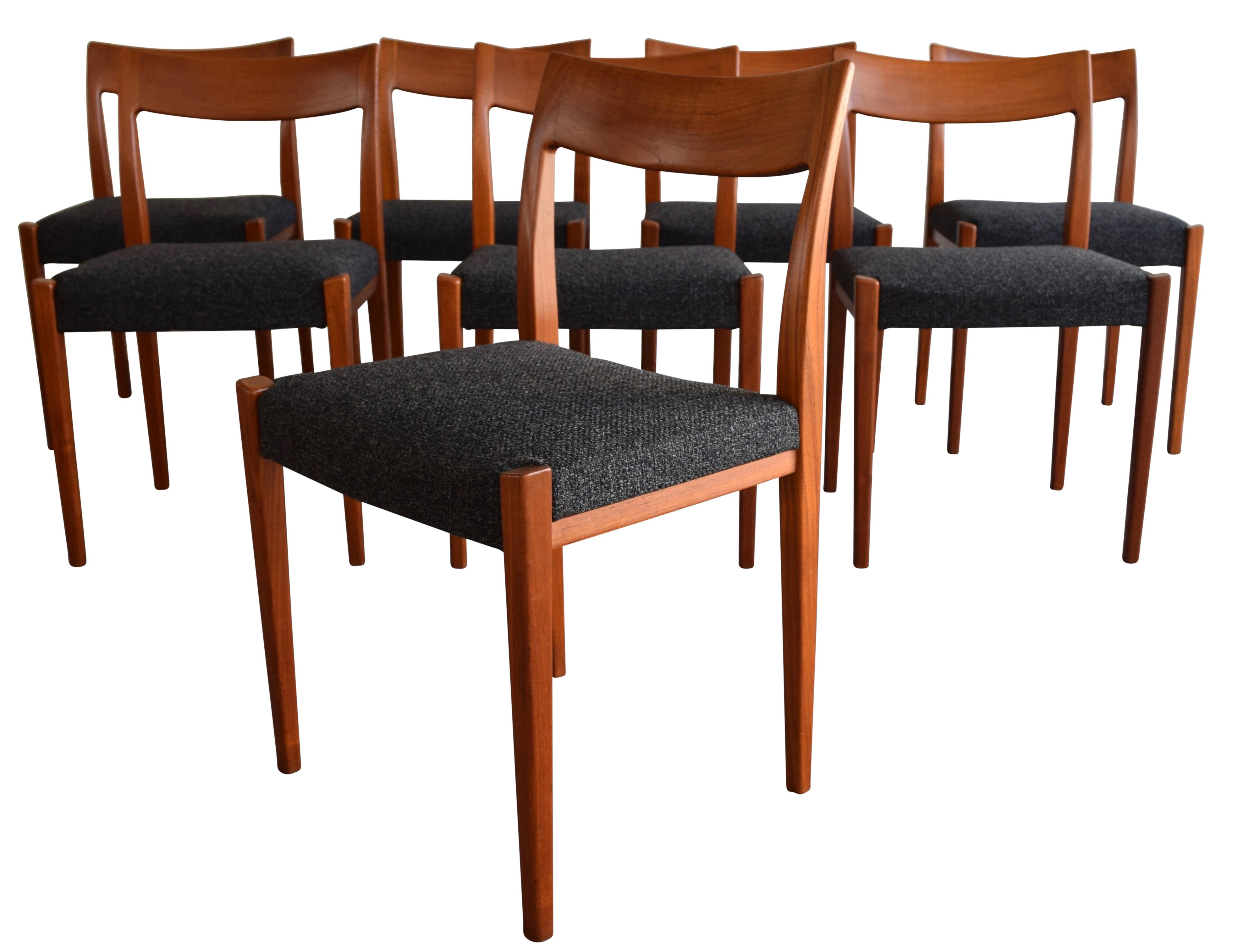 Merveilleux Here Is An Absolutely Stunning Set Of Eight Dining Chairs Designed By Yngve  Ekstrom For Troeds