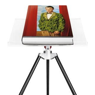 TASCHEN Books, Autographed Annie Leibovitz Portrait Collection - David Byrne, 1986 Cover. Collector's Edition with Book Stand For Sale