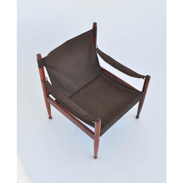 Erik Worts Rosewood Safari Sling Chair - Pair - Image 9 of 10
