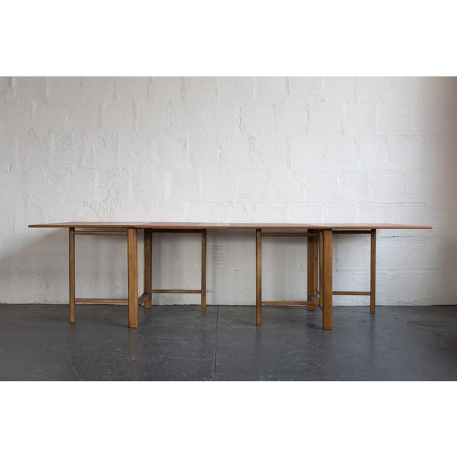 Bruno Mathsson Expandable Dining Table - Image 2 of 8