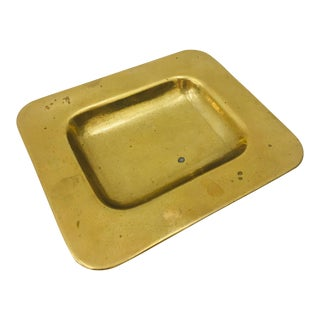 Vintage Brass Dish For Sale