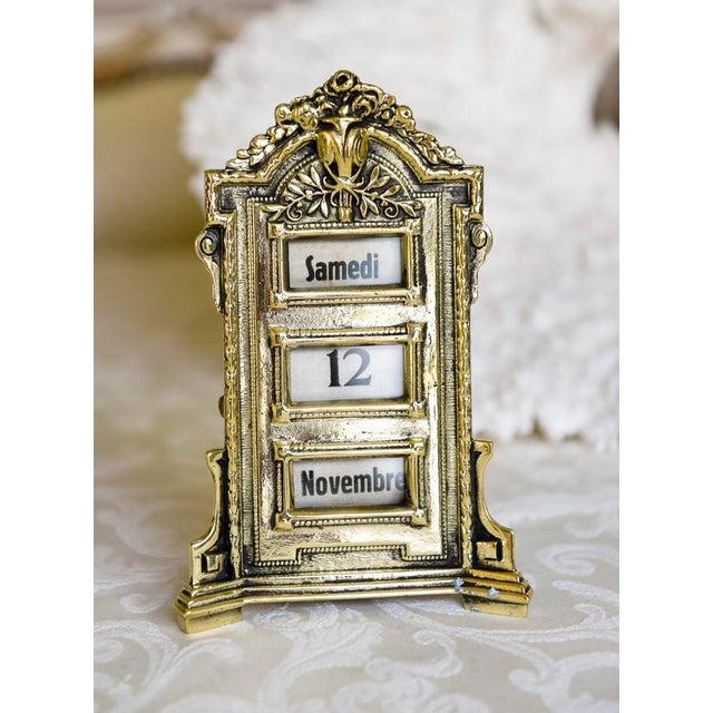 Antique French Perpetual Calendar - Image 2 of 5