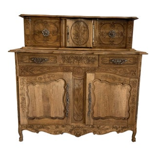 Late 19th Century Antique French Sideboard For Sale