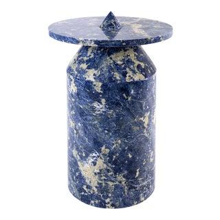 Karen Chekerdjian Modern Marble Side Table
