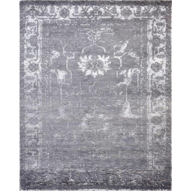 Pasargad Silk & Wool Rug - 4' X 6' - Image 1 of 5