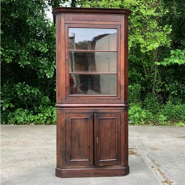 19th Century French Louis Philippe Corner Cabinet For Sale - Image 13 of 13