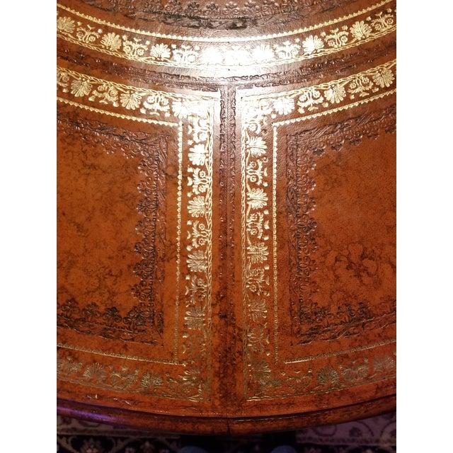20th Century Regency Maitland Smith Partner Desk For Sale - Image 6 of 8