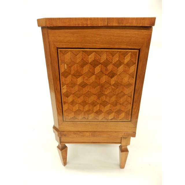 Traditional Italian 19th C Parquet Commode For Sale - Image 3 of 8
