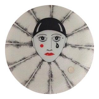 Dorothy Thorpe Glass Platter