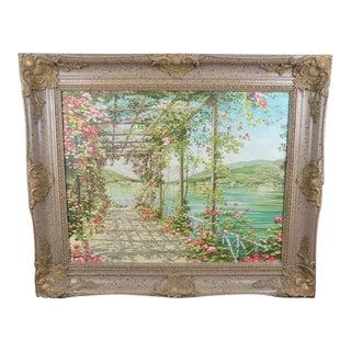 Liliana Frasca Bellagio View Lake Como Print For Sale