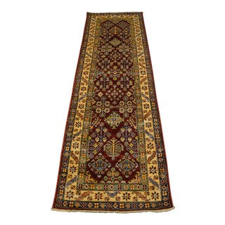 "Traditional Kazak Runner Rug - 2'7"" x 8'3"""