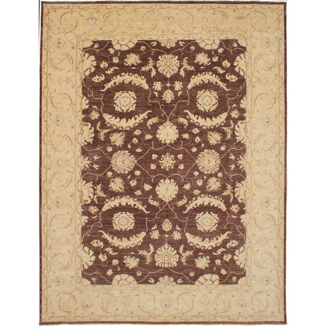 """Classic Hand-Knotted Rug, 9'1"""" X 11'10"""" For Sale - Image 6 of 6"""