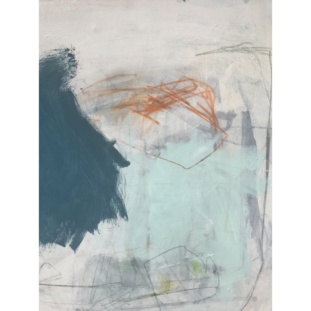 """2010s """"Percussion"""" by Sarah Trundle, Contemporary Abstract Painting For Sale - Image 5 of 7"""